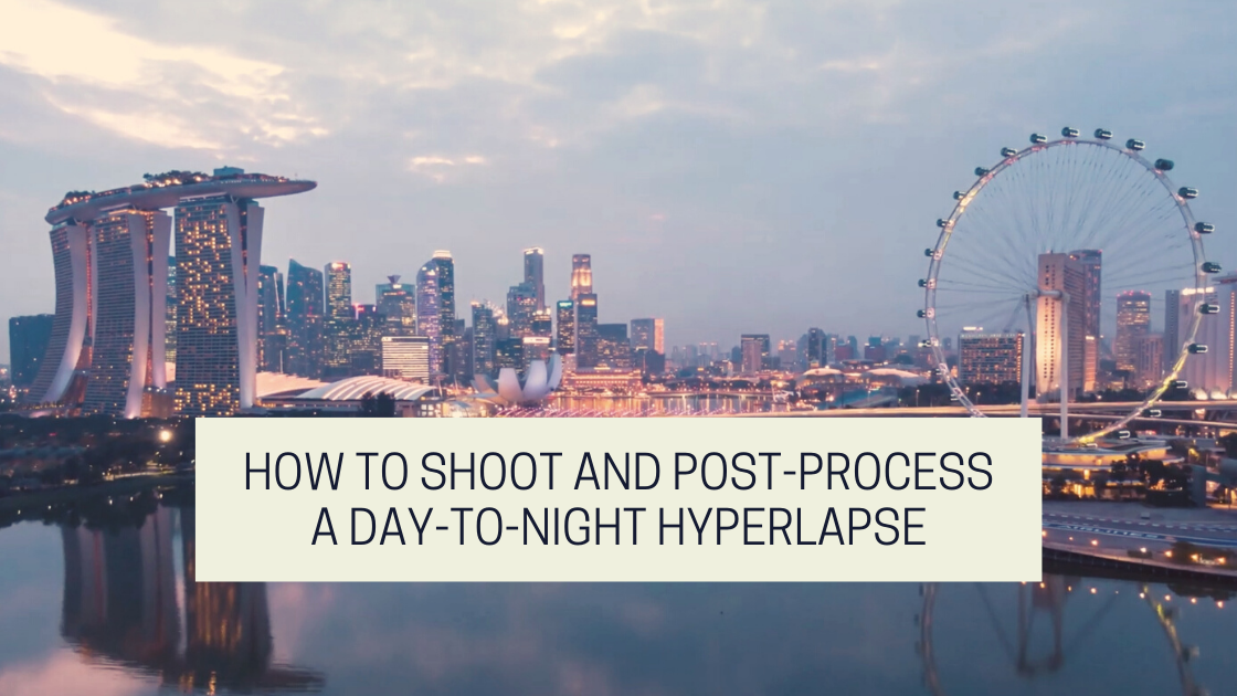 Tutorial how to do a day-to-night hyperlapse video on drone photography bible